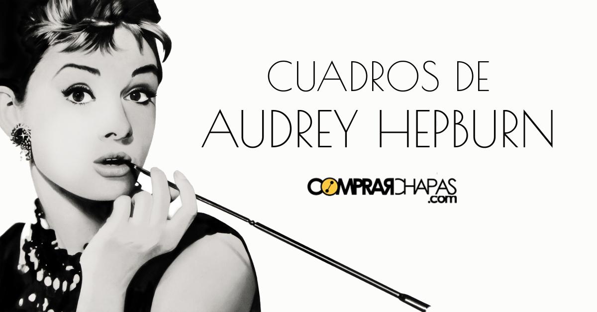 Blog comprarchapas hablamos sobre chapas personalizadas - Cuadro audrey hepburn ...